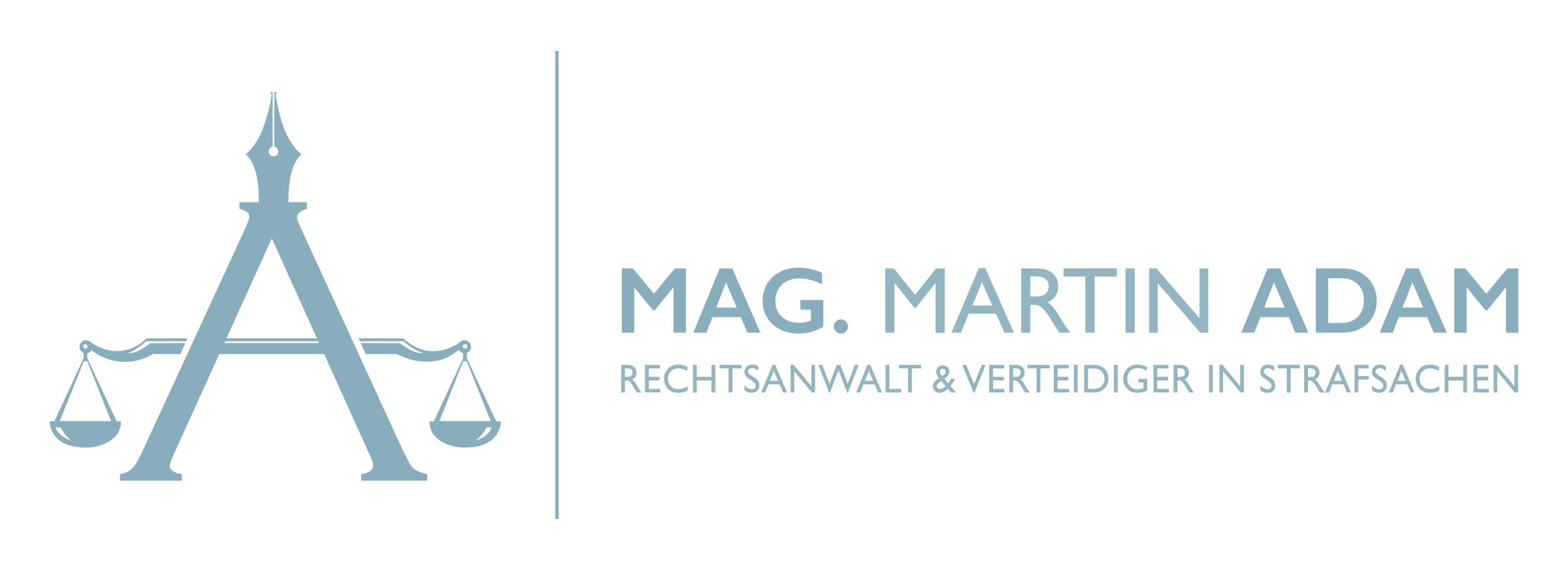 Lawer Mag. Martin Adam Logo Deutsch